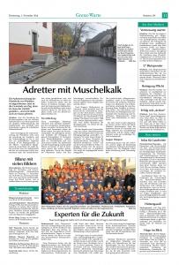 Wissenstest Jugendfeuerwehr 2016 FFW Niedermurach
