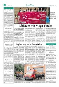 Fahrzeugsegnung & Sommerfest 2016 FFW Niedermurach