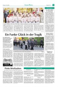 Florianstag in Niedermurach 2016 FFW Niedermurach