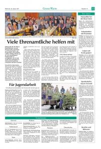 Christbaumsammelaktion der Jugendfeuerwehr 2017  @FFW Niedermurach