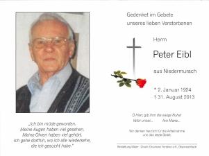 Eibl Peter +31.08.2013