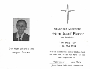 Elsner Josef +12.05.1994