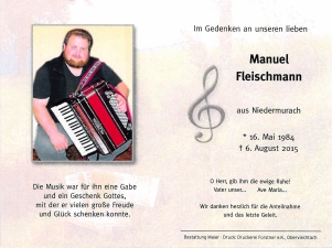 Fleischmann Manuel +06.08.2015