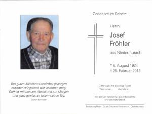 Fröhler Josef +25.02