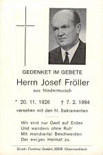 Fröller Josef +07.02.1994