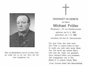 Fröller Michael + 01.06.1986