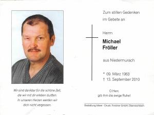 Fröller Michael +13.09.2010