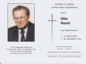 Hauer Otto + 18.12
