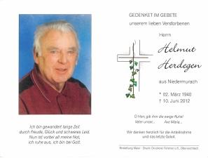 Herdegen Helmut +10.06.2012