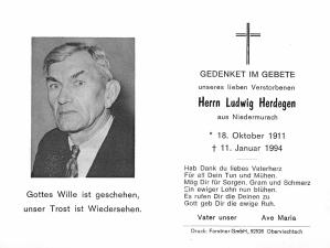 Herdegen Ludwig +11.01.1994
