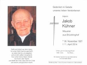 Kühner Jakob +11.04.2014