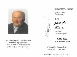 Meier Joseph +01.02.2008
