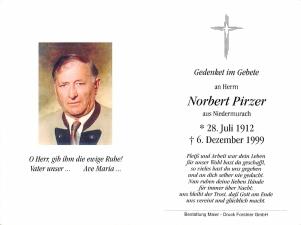 Pirzer Norbert +06.12.1999