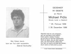 Pröls Michael +26.12.1996