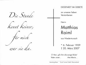 Raiml Matthias +20.03.2007