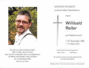 Reiter Willibald +14.03.2012