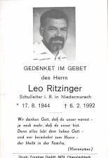 Ritzinger Leo +06.02.1992
