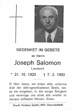Salomon Joseph +07.02.1993