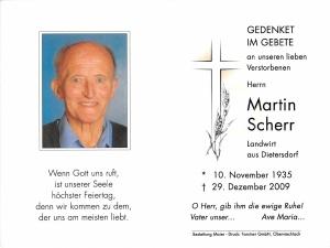 Scherr Martin +29.12.2009