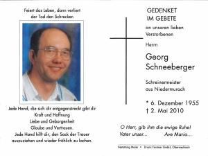 Schneeberger Georg +02.05.2010