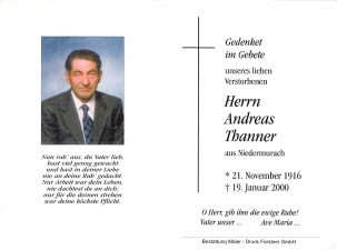 Thanner Andreas +19.01.2000