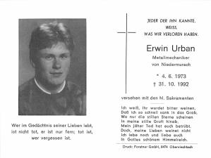 Urban Erwin +31.10.1992