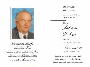 Urban Johann +11.03.2010