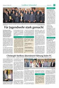 Jugendfeuerwehr Ehrungsabend in Neunburg v. W. 2017