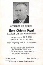 Christian Deyerl +30.10.1982