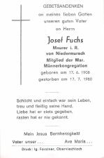 Josef Fuchs +17.7.1980