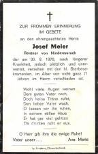 Josef Meier +30.08.1970