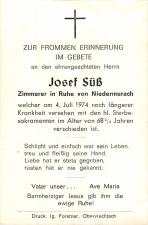 Josef Süß +4.7.1974