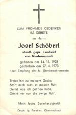 Josef Schöberl +27.4.1973