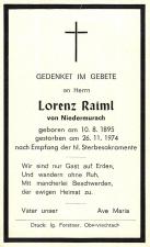 Lorenz Raiml +26.11.1974