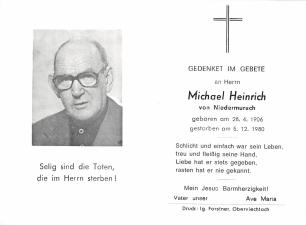 Michael Heinrich +5.12.1980