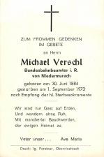 Michael Verschl +1.9.1973