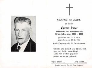 Vinzenz Pirzer +21.2.1983