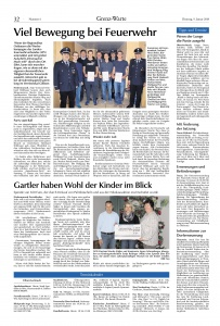 Generalversammlung 2018 + Jugendfeuerwehr @FFW Niedermurach