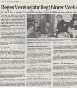 Generalversammlung 1999 @FFW Niedermurach