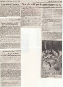 Sommerfest 1996 @FFW Niedermurach