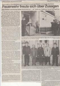 Schirmherren-, Ehrenschirmherren- & Festbrautbitten 1995 @FFW Niedermurach