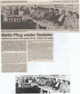 Festausschusssitzung 1995 @FFW Niedermurach