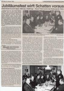 Generalversammlung 1995 @FFW Niedermurach