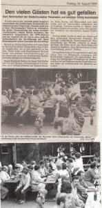Sommerfest 1994 @FFW Niedermurach
