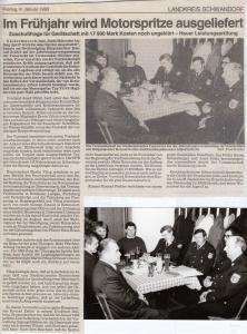 Generalversammlung 1993 @FFW Niedermurach
