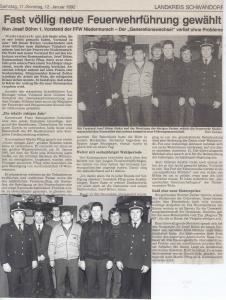 Generalversammlung 1992 @FFW Niedermurach