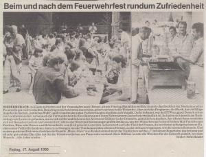 Sommerfest 1990 @FFW Niedermurach