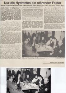 Generalversammlung 1990 @FFW Niedermurach