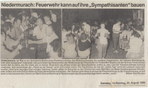 Sommerfest 1989 @FFW Niedermurach