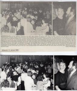 Feuerwehrball 1989 @FFW Niedermurach